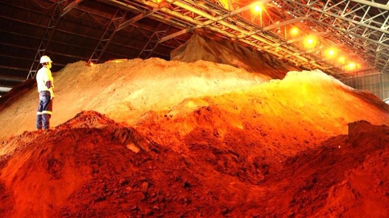 銅礦砂 (圖:AFP)