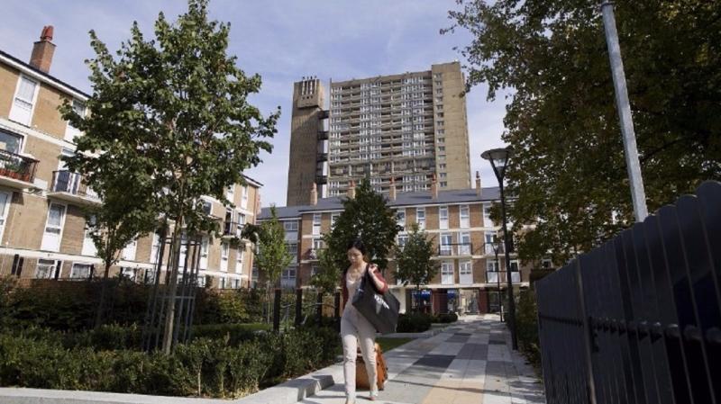 經濟向上成長的時代刺激了房屋銷售。(圖片來源:AFP)