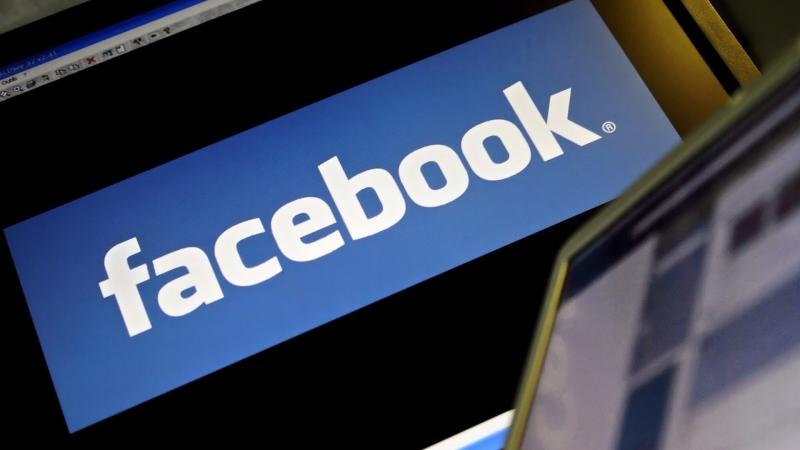 圖:AFP  週四科技股下跌 但臉書股價却上漲