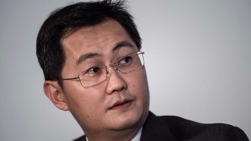 騰訊董事會主席馬化騰。(圖:AFP)