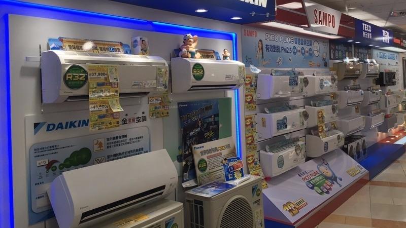 〈酷暑商機夯〉高溫飆、冷氣銷售熱呼呼 挹注3C通路、家電廠業績