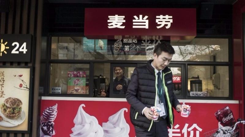 中信麥當勞將在大陸開設2000家新分店。 (圖:AFP)