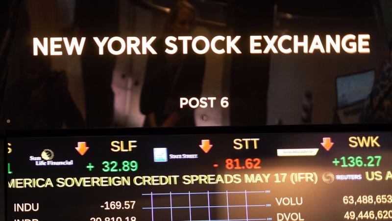 圖:AFP  美國股市本益比已偏高