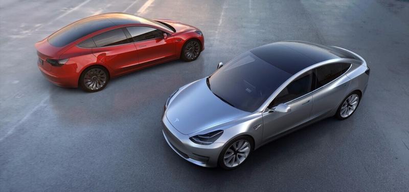 Model3 / 圖片來源:Tesla
