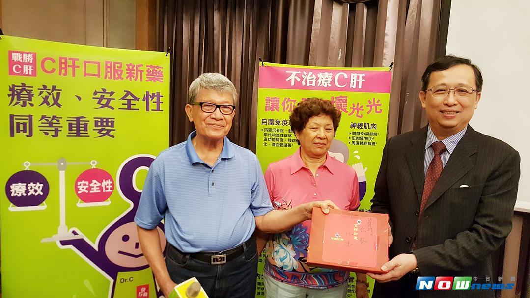 C肝治療成功患者賴太太。(圖/記者陳佩琪攝 , 2017.08.10)