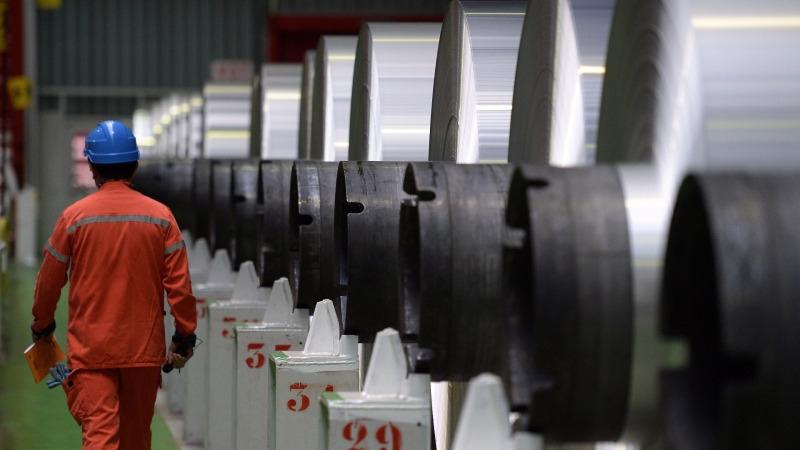 歐美對中國的鋁、不鏽鋼加課重稅      (圖:AFP)