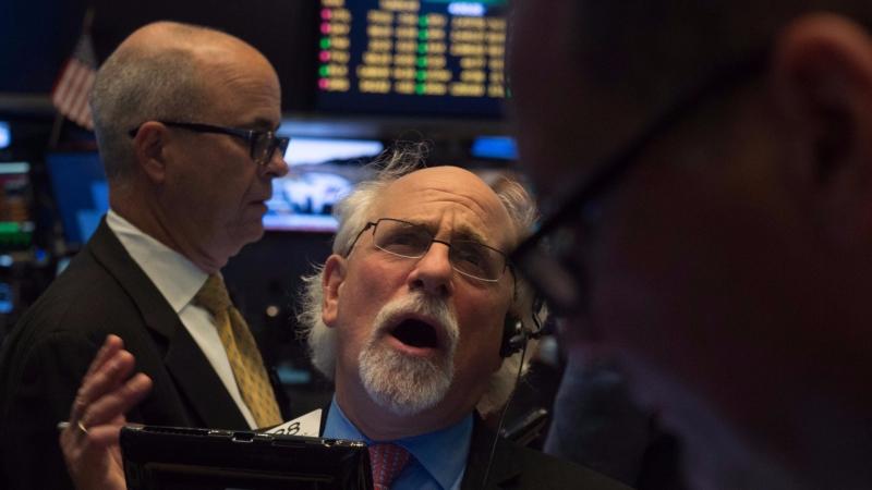 圖:AFP  美股週四大跌