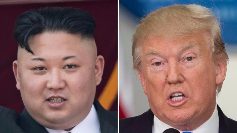 美國總統川普再度發言警告北韓勿輕舉妄動。(AFP)