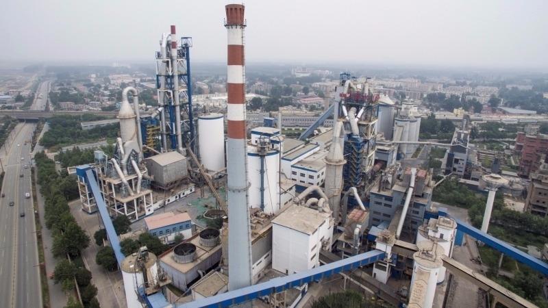 大陸電解鋁工廠      (圖:AFP)