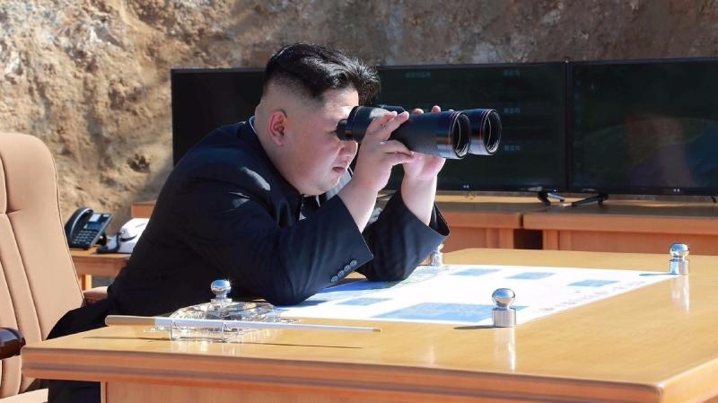 北韓領導人金正恩。(圖:AFP)