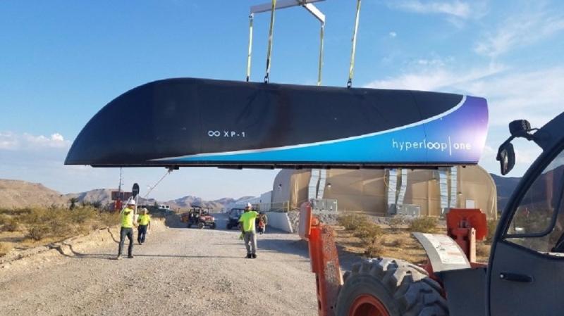 未來3-4年內Hyperloop就能實際運作了。(圖片來源:AFP)