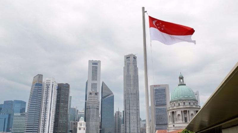 新加坡第二季的GDP年增率上升了2.9%。(圖片來源:AFP)