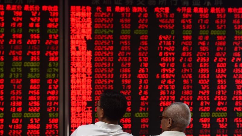 MSCI中國A股指數增6檔      (圖:AFP)