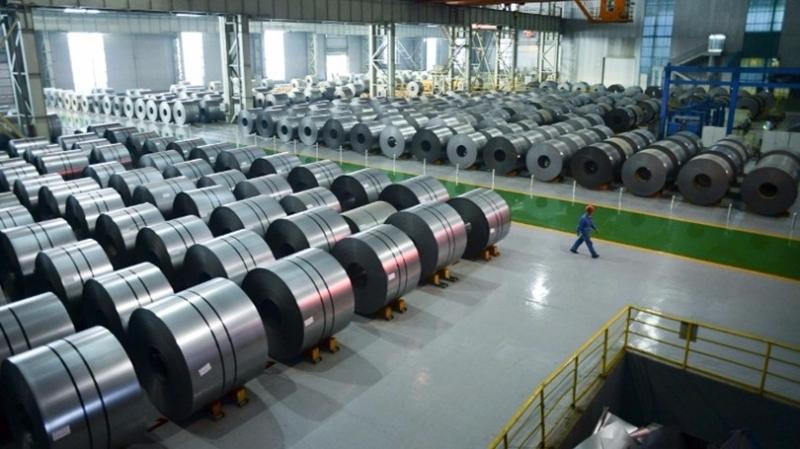 中美貿易摩擦,鋼鐵將首當其衝。  (圖:AFP)