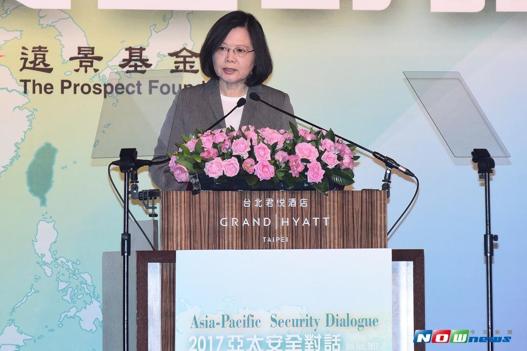 總統蔡英文盛讚前副總統呂秀蓮,對台灣推動女權、發展民主化的努力。(資料圖/NOWnews)