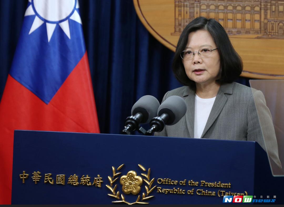 總統蔡英文11日會見工商協進會理事長林伯豐等人,強調重啟核四不是台灣的選項。(資料圖/NOWnews)