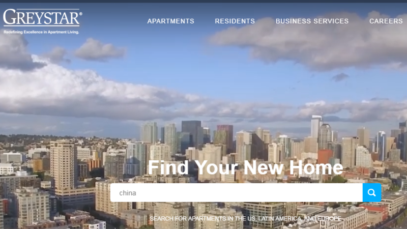 百聯集團、中駿置業都和美國睿星資本合作打造長租公寓。(圖截自睿星資本官網)