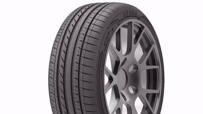 建大已推出 KR41 高性能轎車胎搶攻歐洲市場。(圖:建大提供)
