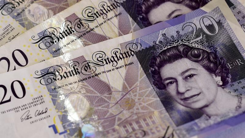 圖:AFP  英國脫歐 英鎊持續受到壓力