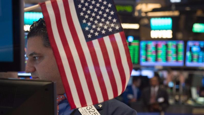 圖:AFP  美國股市週五小幅收高