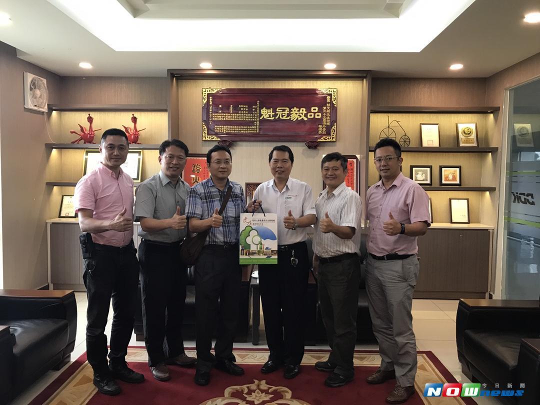 越南台灣商會聯合總會。(圖/記者洪佳伶翻攝 , 2017.08.12)