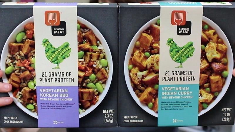 超越肉類公司的植物性蛋白質食品。(圖片來源:YouTube)