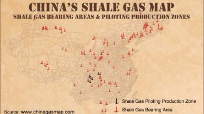中國頁岩氣產量躍居全球第三