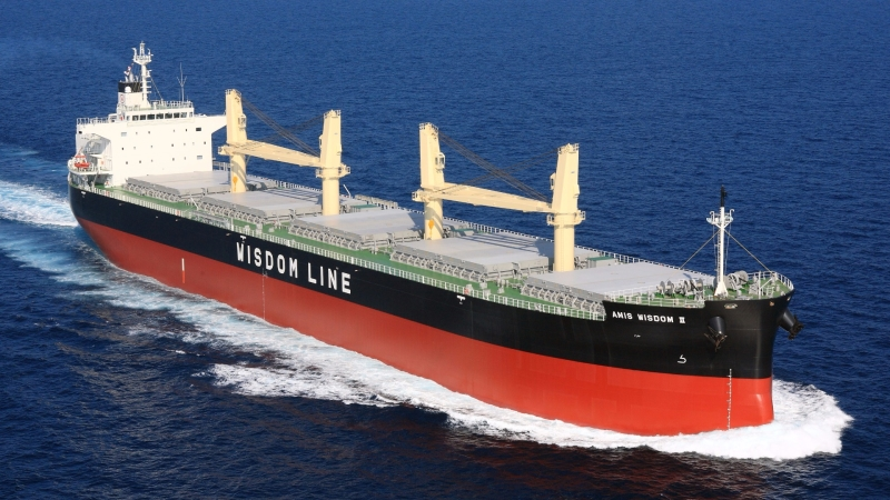 散裝航商慧洋-KY旗下船隊。(圖:慧洋提供)