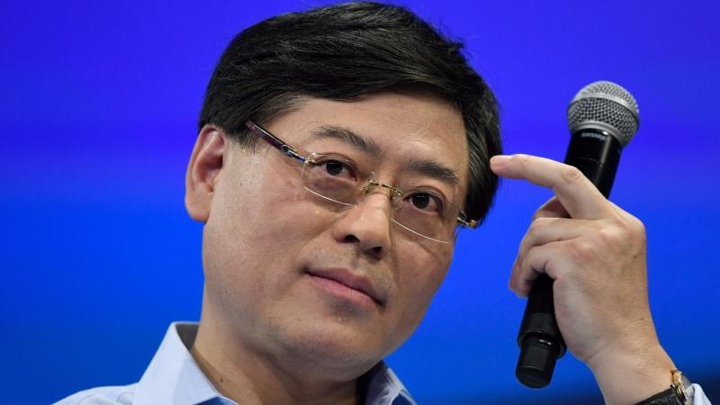 聯想董事長兼首席執行官楊元慶。(圖:AFP)