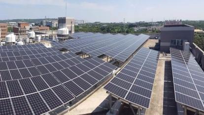 宏碁太陽能發電站啟動 年發電效果等於4.67座大安森林公園減碳量