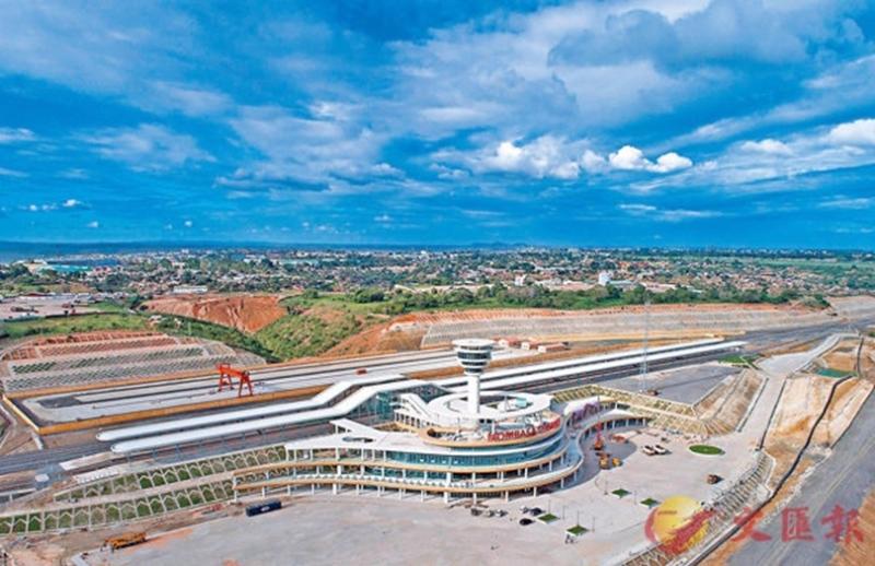 肯亞蒙內鐵路蒙巴薩客運站,全長約480公里,是一條採用中國標準、中國技術、中國裝備建造的現代化鐵路。 圖片來源:香港文匯報