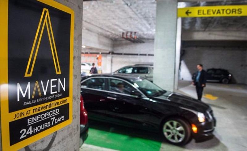 Maven 租車 / 圖片來源:CarandDriverblog