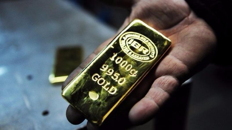 美銀美林稱金價到2018年初有望漲到每盎司1400美元。  (圖:AFP)