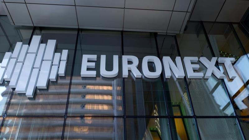 圖:AFP 歐洲股市週三下跌