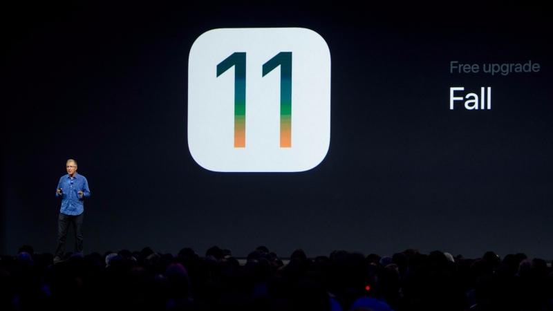 iOS 11 / 圖片來源:afp