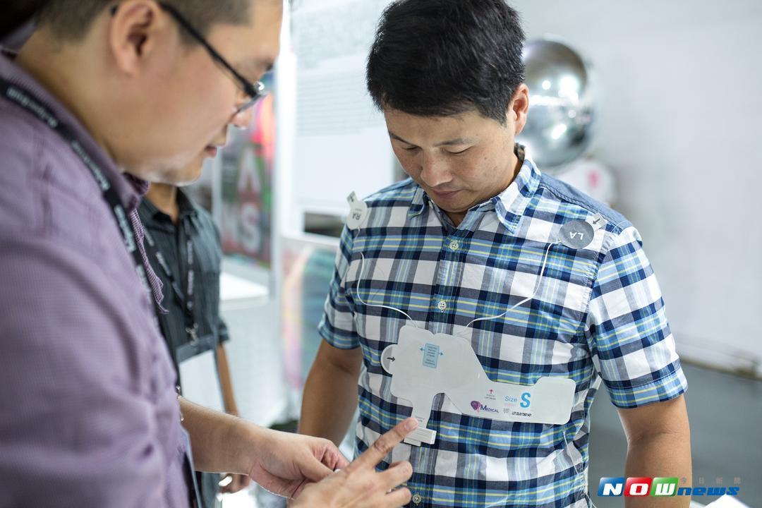 ▲鴻海永齡健康基金會主辦國際生醫新創論壇,其中QT Medical開發家用心臟監控裝置獲得評審青睞。(圖/。永齡H. Spectrum提供)