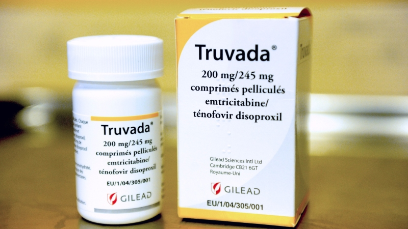 Gilead 的著名 Truvada 藥物 / 圖片來源:afp