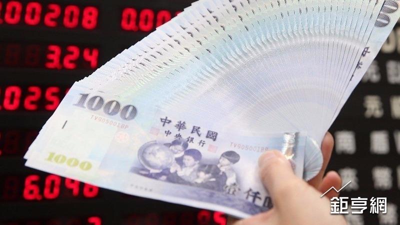 股匯雙升 新台幣早盤延續強勢