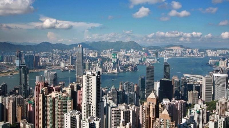 香港房價指數連升16個月,累漲逾24%。  (圖:AFP)