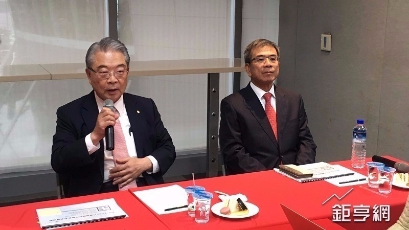 工總理事長許勝雄(左)。(鉅亨網資料照)
