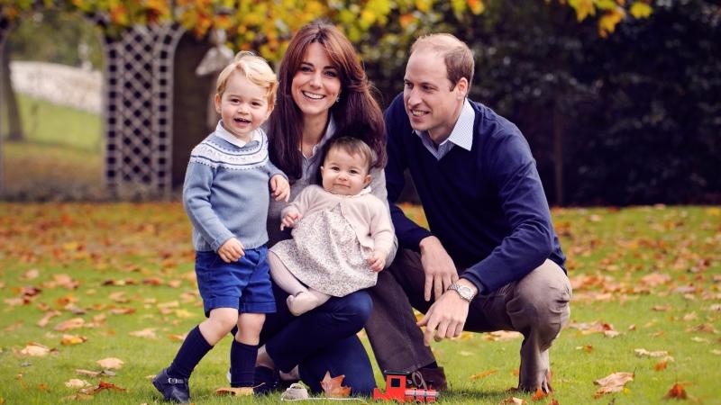 英國威廉王子一家四口馬上又要多一人了      (圖:AFP)
