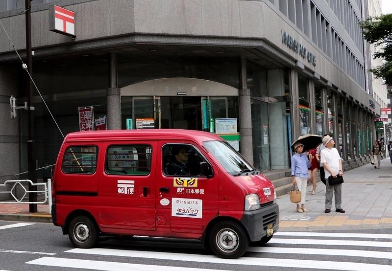 郵便車 / 圖片來源:afp