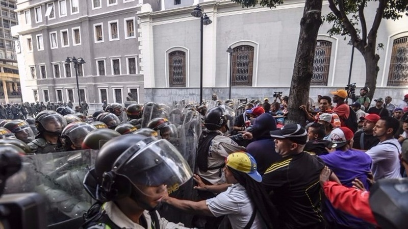 委內瑞拉動亂不已      (圖:AFP)