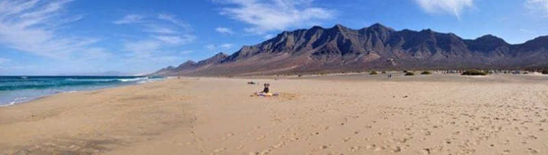 西班牙加那利群島的Cofete海灘。 (圖取材自網路)