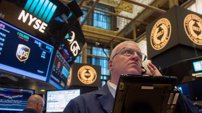 圖:AFP  颶風艾瑪擔憂消退 美國股市週一大漲