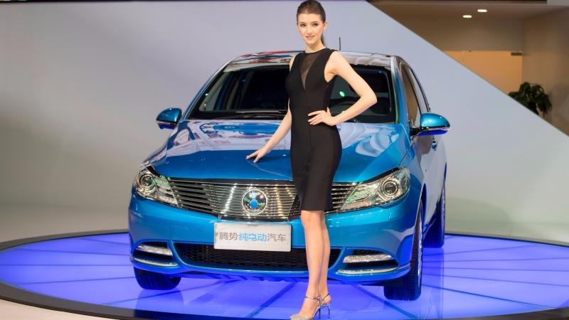 中國電動車龍頭比亞迪被中國券商被視為看好的10大港股名單。(圖:AFP)