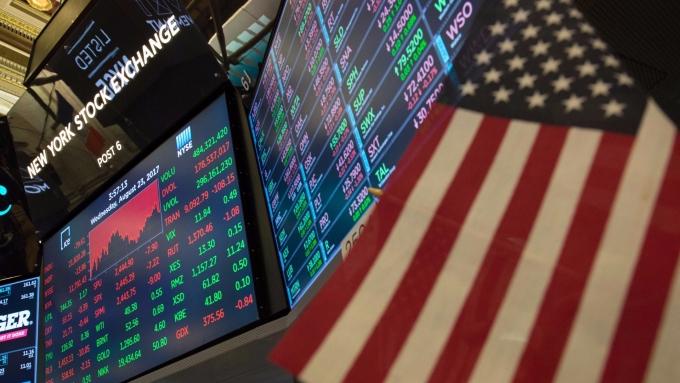 圖:AFP 美國股市小幅收高