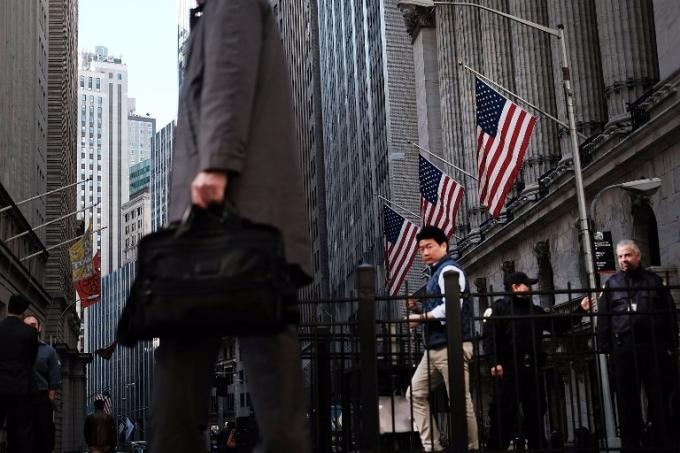 美國華爾街。(AFP)