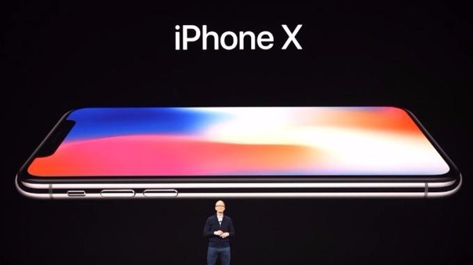 蘋果推出新iPhone 8、iPhone 8 Plus及iPhone X。 (圖:AFP)