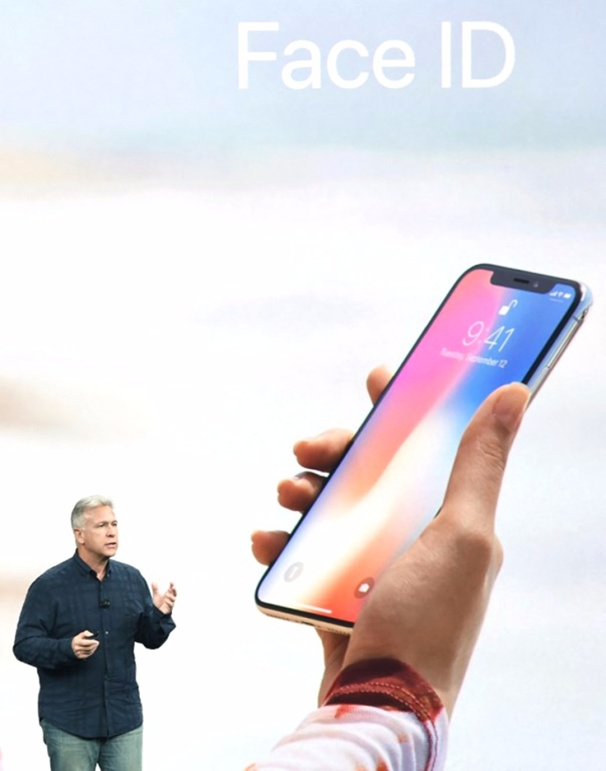 iPhone X最明顯的升級就是人臉辨識Face ID。 (圖:AFP)